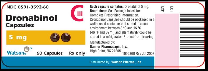 Marinol branding label